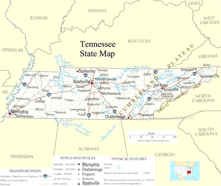 Tennessee Map1